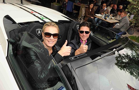 27. Kitzbüheler Alpenrallye: Maria Riesch im Lamborghini