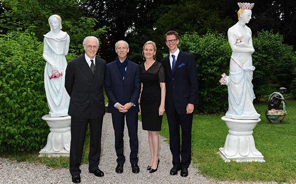 MoMA meets Nymphenburg: Treffen der Münchner und New Yorker Kunstfreunde in der Porzellan Manufaktur