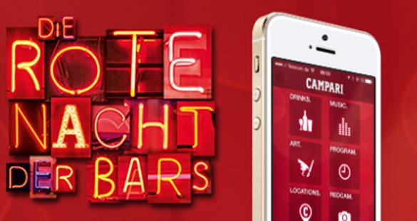 Campari: 'Die rote Nacht der Bars'