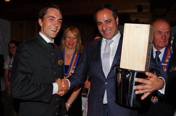 Chaîne des Rôtisseurs: Ein Bayer gewinnt Sommelier-Wettbewerb