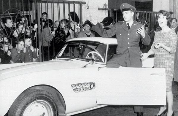 Ein Mythos kommt nach München: BMW Oldtimer von Elvis Presley