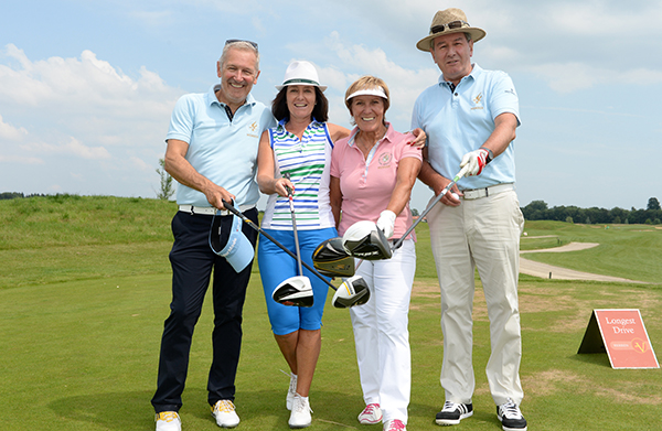 Golf Cup der Kinder-Rheuma Stiftung zu Gast in Golf Valley