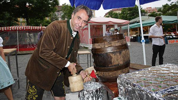 Eröffnungsparty des Restaurants 'Hochreiter's Steirer am Markt'