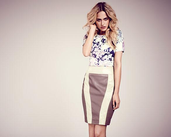 Mode-Dauer-Brenner: Leder für den Glamour-Look