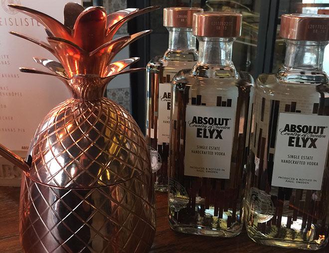 Bis 31. Mai wird der internationale Online-Shop mit dem Vodka Absolut Elyx Elyxboutique.com für Deutschland geöffnet ein!