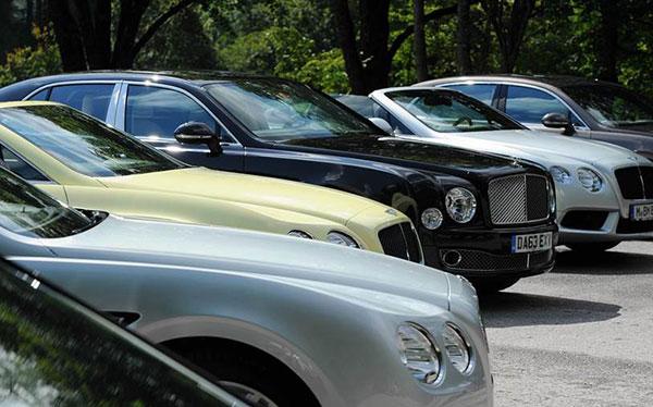 Bentley-Muenchen-AutoFlotte