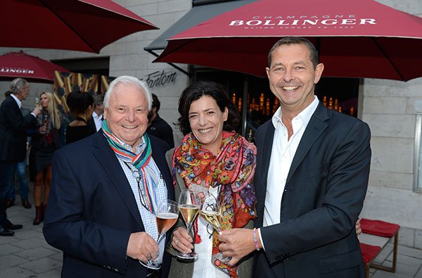 Exklusive Champagner-Party: Bollinger lud in die neue Fantom-Bar