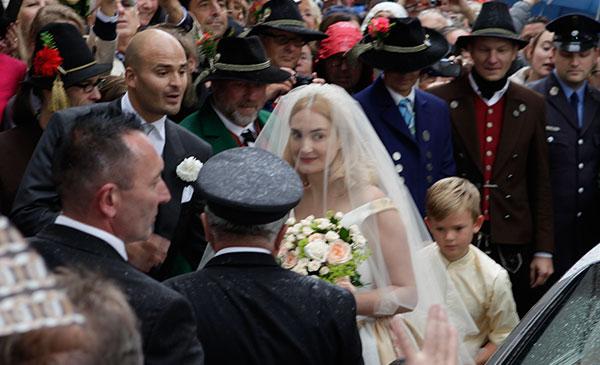 Traumhochzeit mit Glanz und Gloria: Maria Theresia von Thurn und Taxis sagte 'ja'!