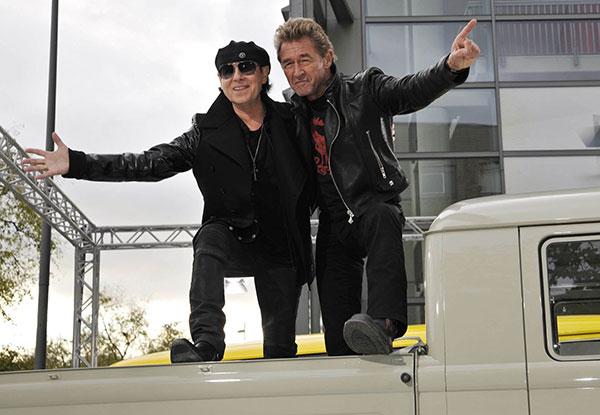 IAA Hannover 2014: Rockiger Auftakt mit Scorpions, Peter Maffay und Co.