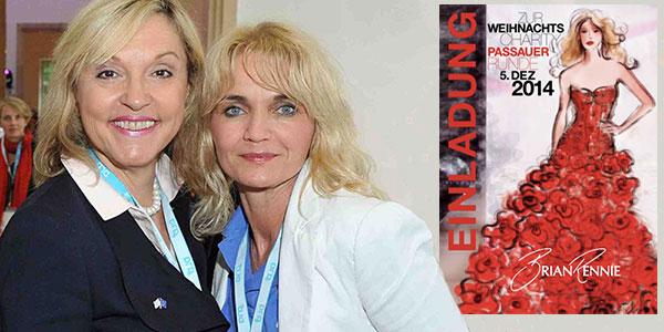 Passauer Runde 2014: Charity mit Patricia Riekel, Dr. Beate Merk, Brian Rennie u.v.m.