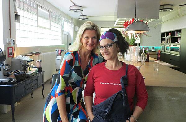 Münchens exklusivstes Kochstudio? Graciela Cucchiara zeigt uns ihre Kochgarage