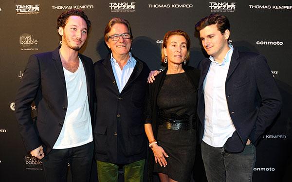 Niklas Epstein und Daniel Haffa: Glamour-Style-Party für Beautyprodukte