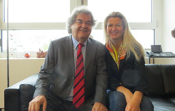 Im München-Interview: Focus Herausgeber Helmut Markwort
