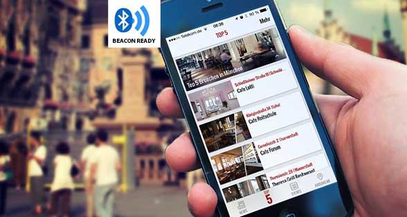 iBeacon Technologie für Münchener Shops, Restaurants, Hotels, Handel und Galerien/Museen