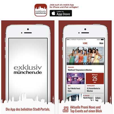 München App von Exklusiv-Muenchen.de mit iBeacon, AroundMe und News
