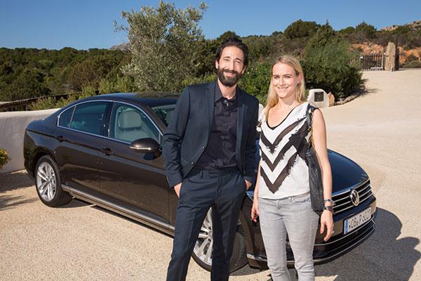 Hollywood-Schauspieler Adrien Brody: GQ-Mann des Jahres in der Kategorie 'Film International'