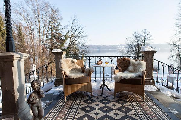 Exklusiver Weihnachtsmarkt am Starnberger See: Hotel La Villa