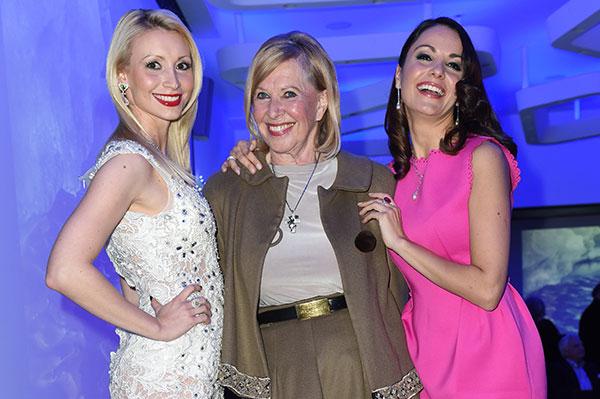 Drei Powerladies feierten Juwelen- und Mode-Cocktail