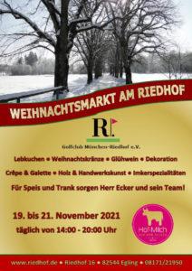 Weihnachtsmarkt @ Riedhof | München | Bayern | Deutschland