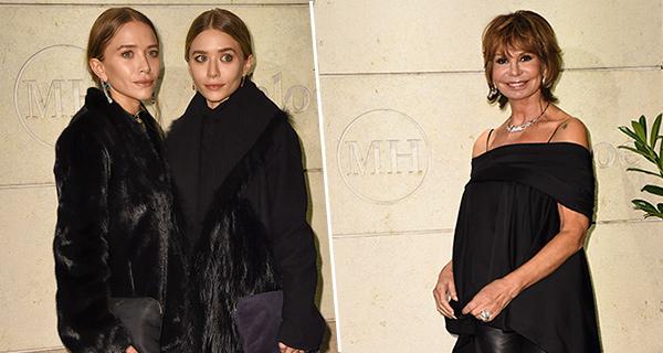 Olsen Twins bei Mode-Lady Marion Heinrich