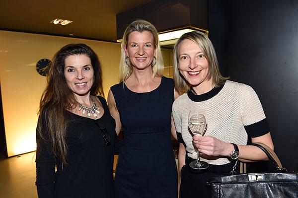 Nett-Werk-Boffi-Party-Andrea-Strigl-mit-Christiane-Wolff-und-Yvonne-Wirsing-Fotocredit-Hannes-Magerstaedt