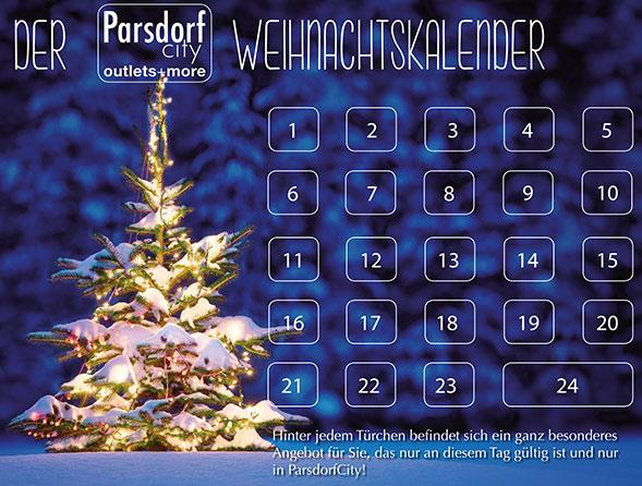1. ParsdorfCity Weihnachtskalender: Jeden Tag eine Shopping-Überraschung