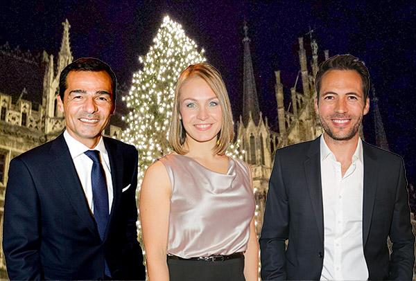 Schöne Bescherung: Wie und wo die Münchner VIPs Weihnachten feiern!
