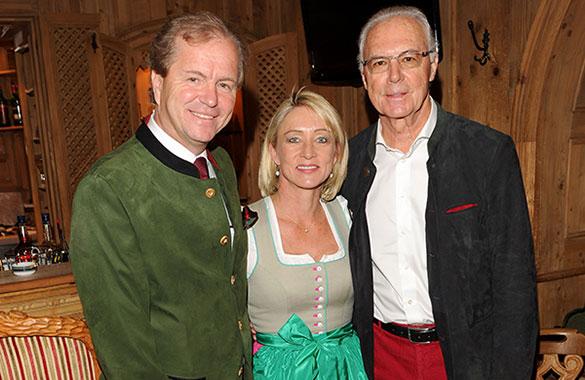 Hotel 'Zur Tenne': Franz Beckenbauer lud zum Karpfenessen