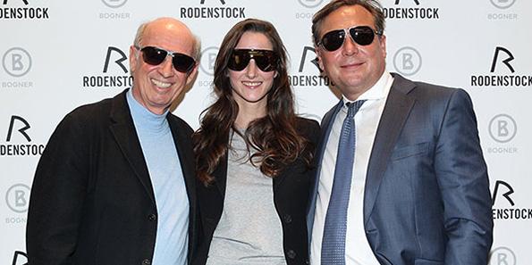 Rodenstock 'Bogner' Brillen: Florinda Bogner modelt für Vaters neue Brillen