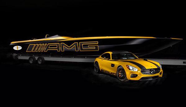 Mercedes AMG GT: Von der Straße aufs Wasser