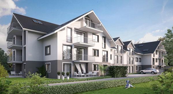Immobilien Taufkirchen: Neubauwohnungen und Reihenhäuser vor den Toren Münchens