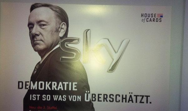 Deutschlandpremiere von 'House of Cards' in Münchner Szenelokal