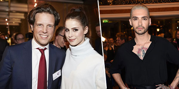 Bill Kaulitz, Boris Becker, Lena Meyer Landrut und Co: Promi-Auflauf bei den Marken-Oscars von Serviceplan!