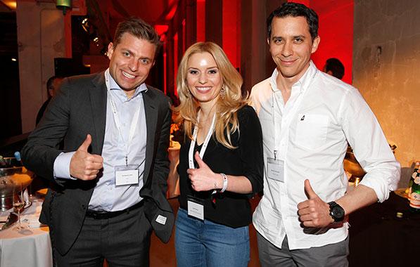1. AudiForFuture-Event: Exlusives Jungunternehmer-Treffen