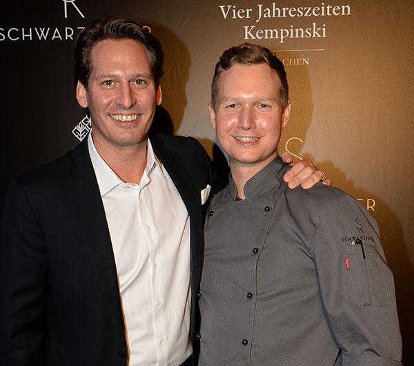 Restaurant Schwarzreiter Opening-Glamour-Party im Kempinski 'Vier Jahreszeiten'