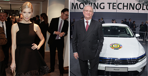 Auto-Salon Genf 2015: Volkswagen Group Night vor Automesse-Opening