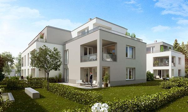 Immobilien Aubing: Exklusive Wohnanlage sucht 27 Eigentümer!