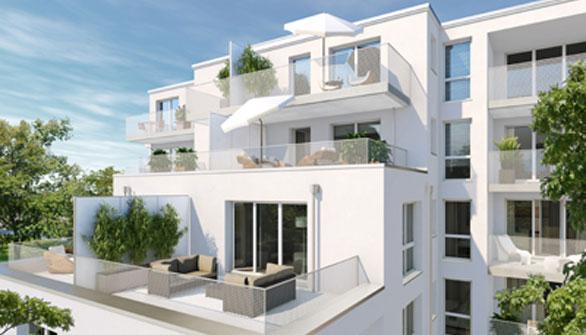 Wohnungen in Berg am Laim: Josephsburg Terrassen