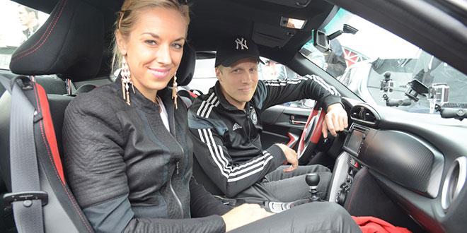 24 Stunden Nürburgring: Oliver Pocher und Sabine Lisicki gaben Gas!