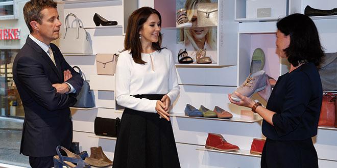 ECCO Schuhe Shop: Re-Opening mit Königlicher Hilfe