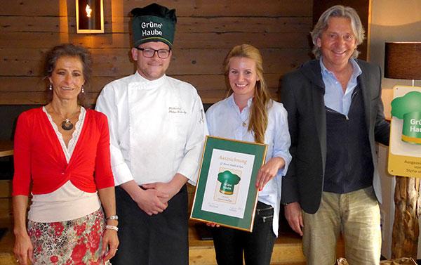 Hotels-Kitzbuehel-QResort-Verleihung-Gruene-Haube