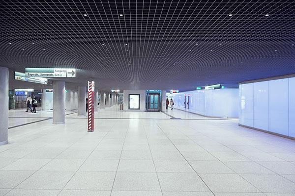 hauptbahnhof m nchen bald deutscher lichtdesign preis. Black Bedroom Furniture Sets. Home Design Ideas