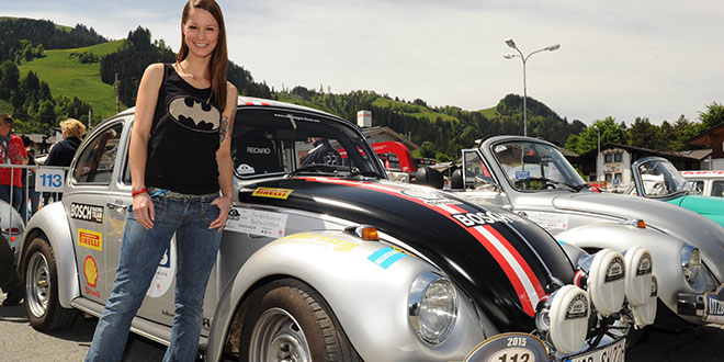 Christina Stürmer rockt die Kitzbüheler Alpenrallye