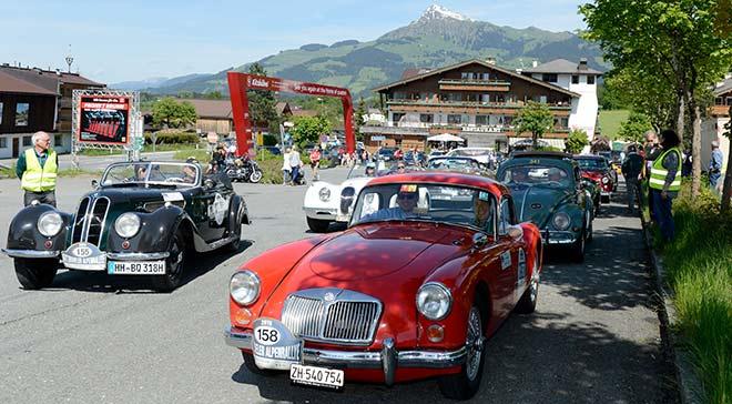 Im Oldtimer Rallye Fieber: Kitzbüheler Alpenrallye