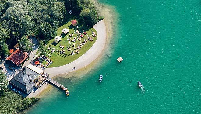Tegernsee kann Beach Club