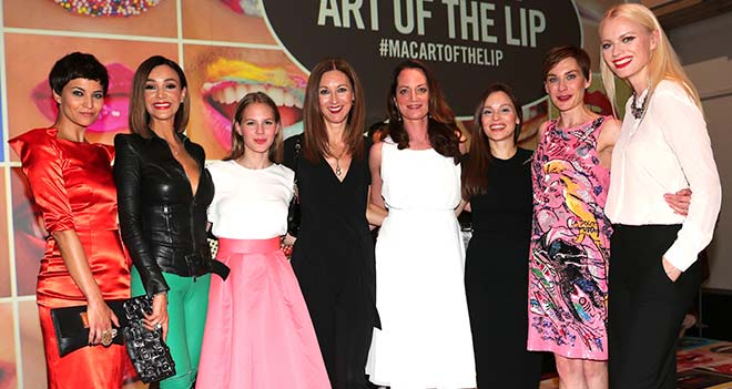 MAC Cosmetics München: 'The Art of the Lip'-Party im Haus der Kunst