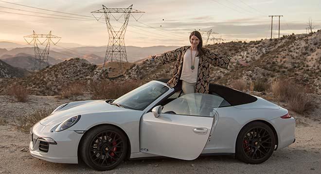 Porsche Carrera GTS: Sophie Wepper testete den neuen Porsche für uns!