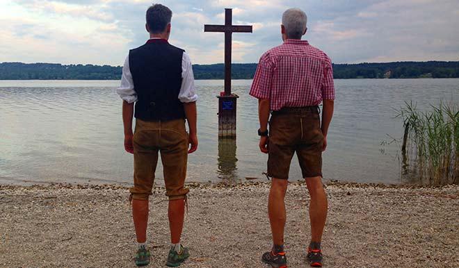 Der Märchenkönig als Wanderung: Kultur-Nacht-Wandern am Starnberger See