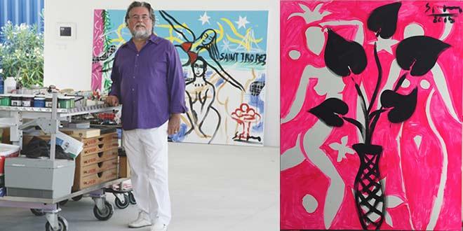 St. Tropez-Feeling an der Isar: Künstler Stefan Szczesny kommt nach München