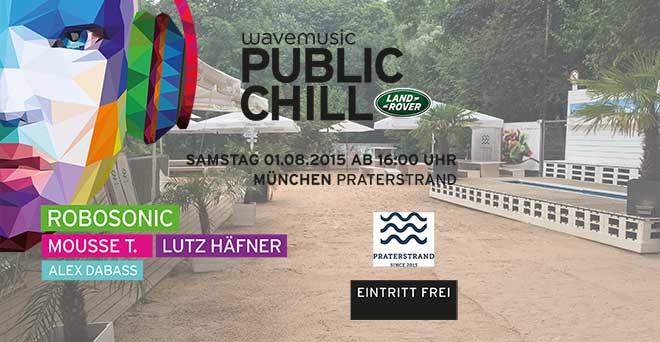 Land Rover und Wavemusic chillen am Praterstrand (GEWINNSPIEL)